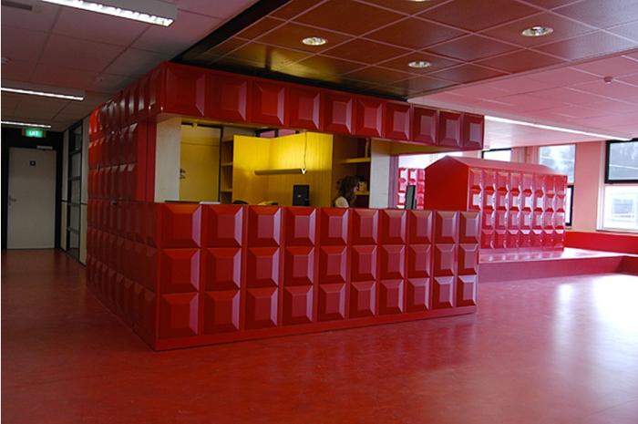 Entree Rijnlands Lyceum