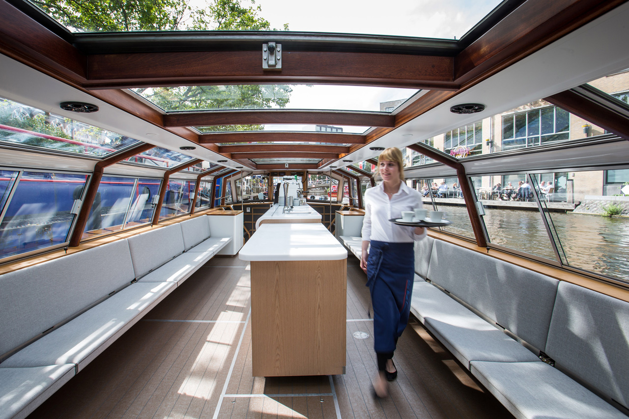 Interior design Canal Boat maarten olden