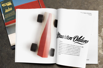 Publication Spliners designed by Maarten Olden in Mexican art-magazine Apócrifa