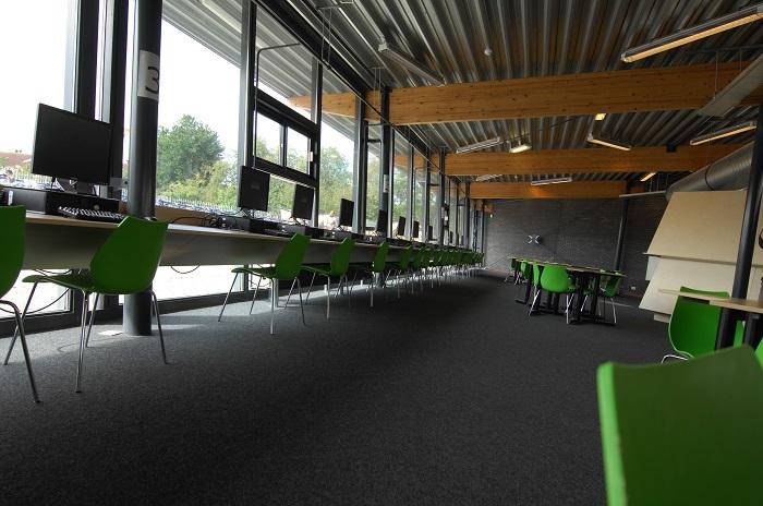 Mediatheek Rijnlands Lyceum, een ontwerp van Maarten Olden, wint  Nationale Prijs