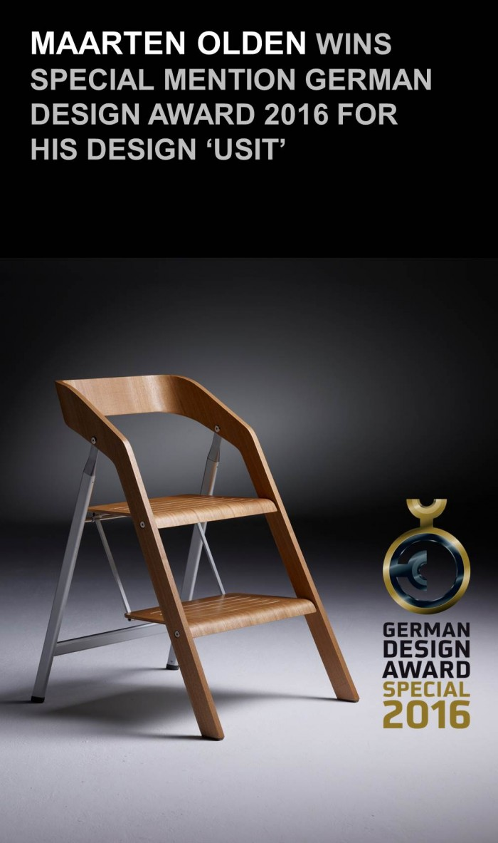German Design Award 2016 Maarten Olden