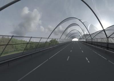 Overkapping snelweg