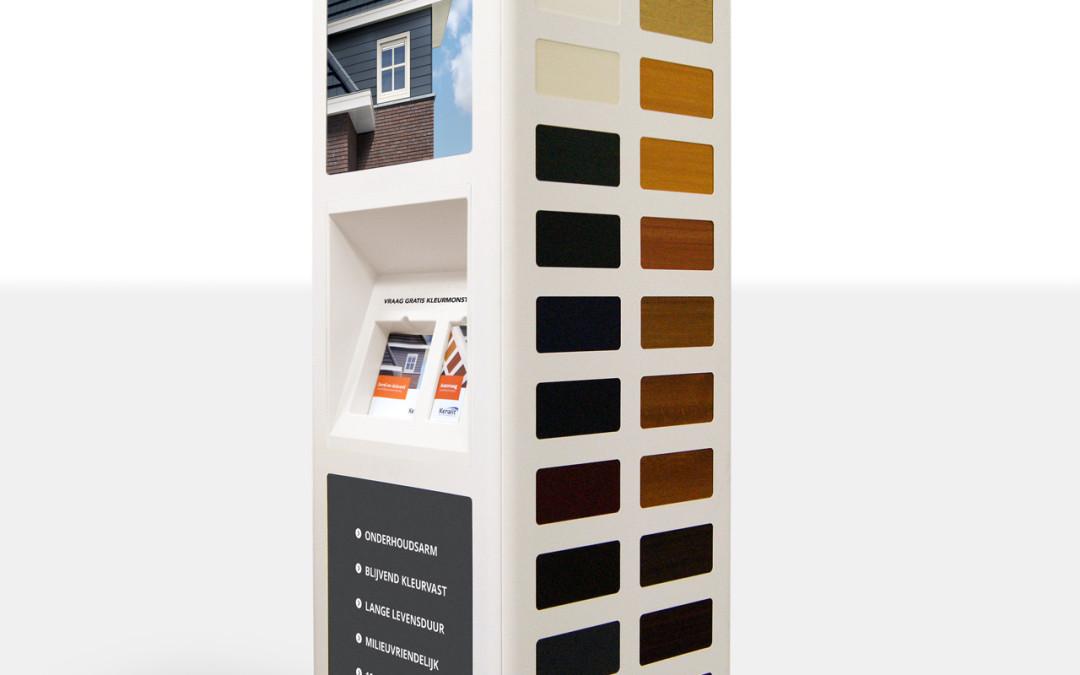 showroom display Keralit cladding