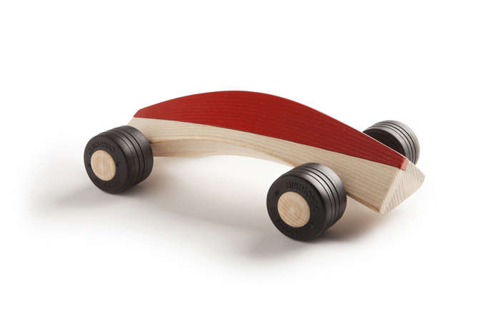 spliner x8 red wooden toy car maarten olden