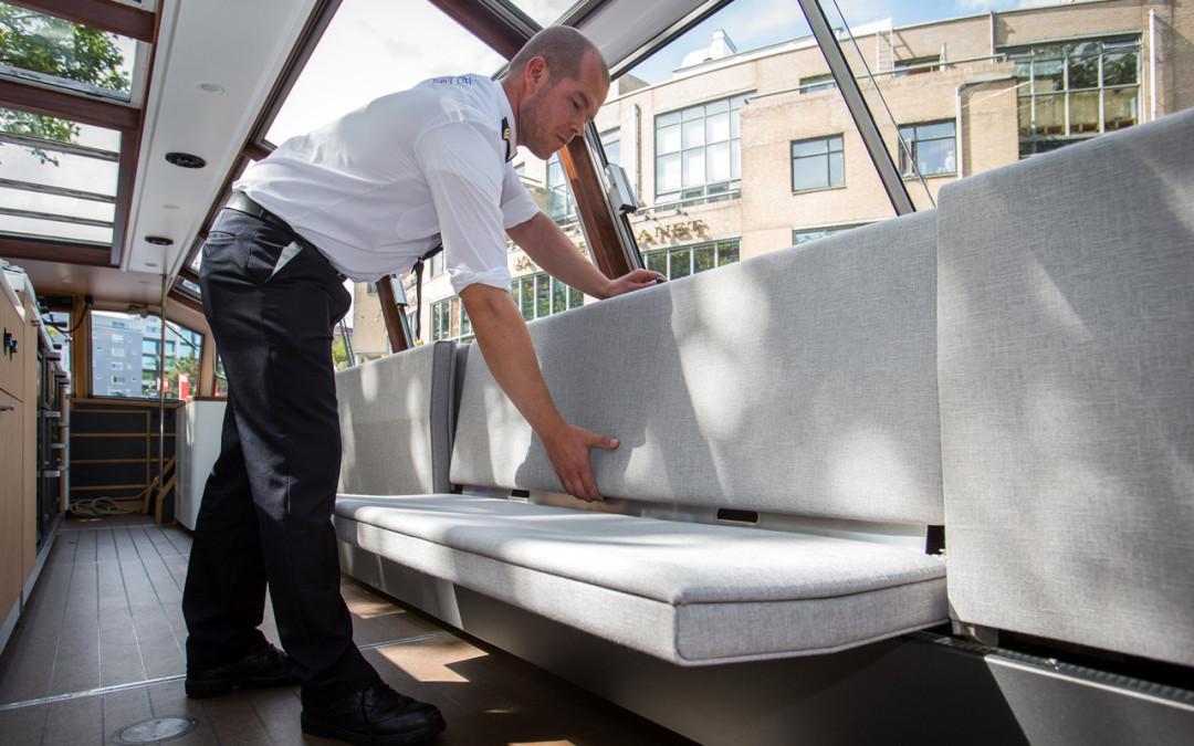 Interior design Canal Boat