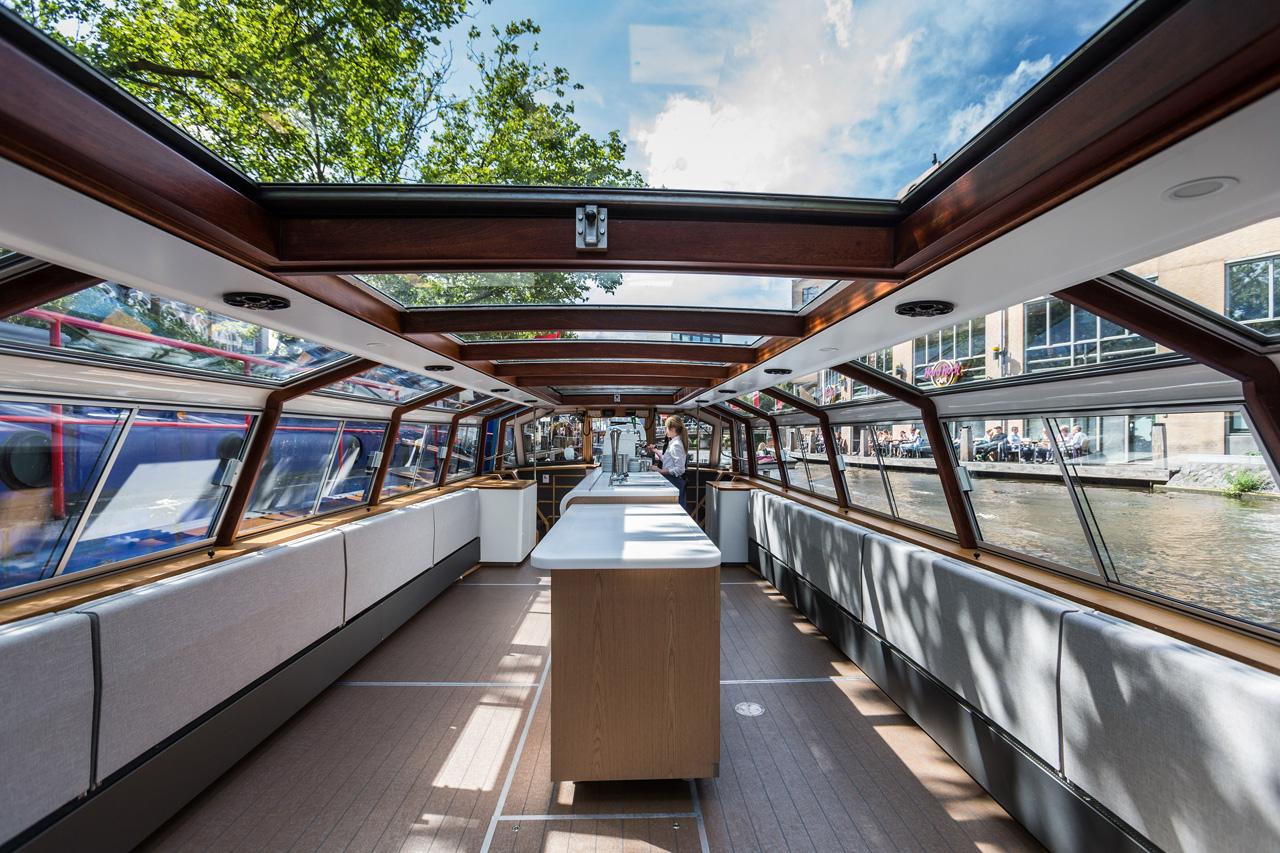 Interior design Canal Boat maarten olden