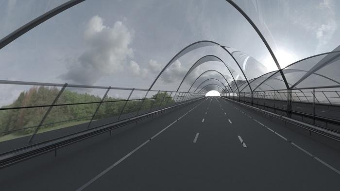 overkapping snelweg Maarten Olden
